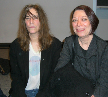 Judith Tannenbaum - (On right, with Patti Smith) Contemporary Art CuratorArtistic Director, Whitman at 200tannenbaumje@gmail.com