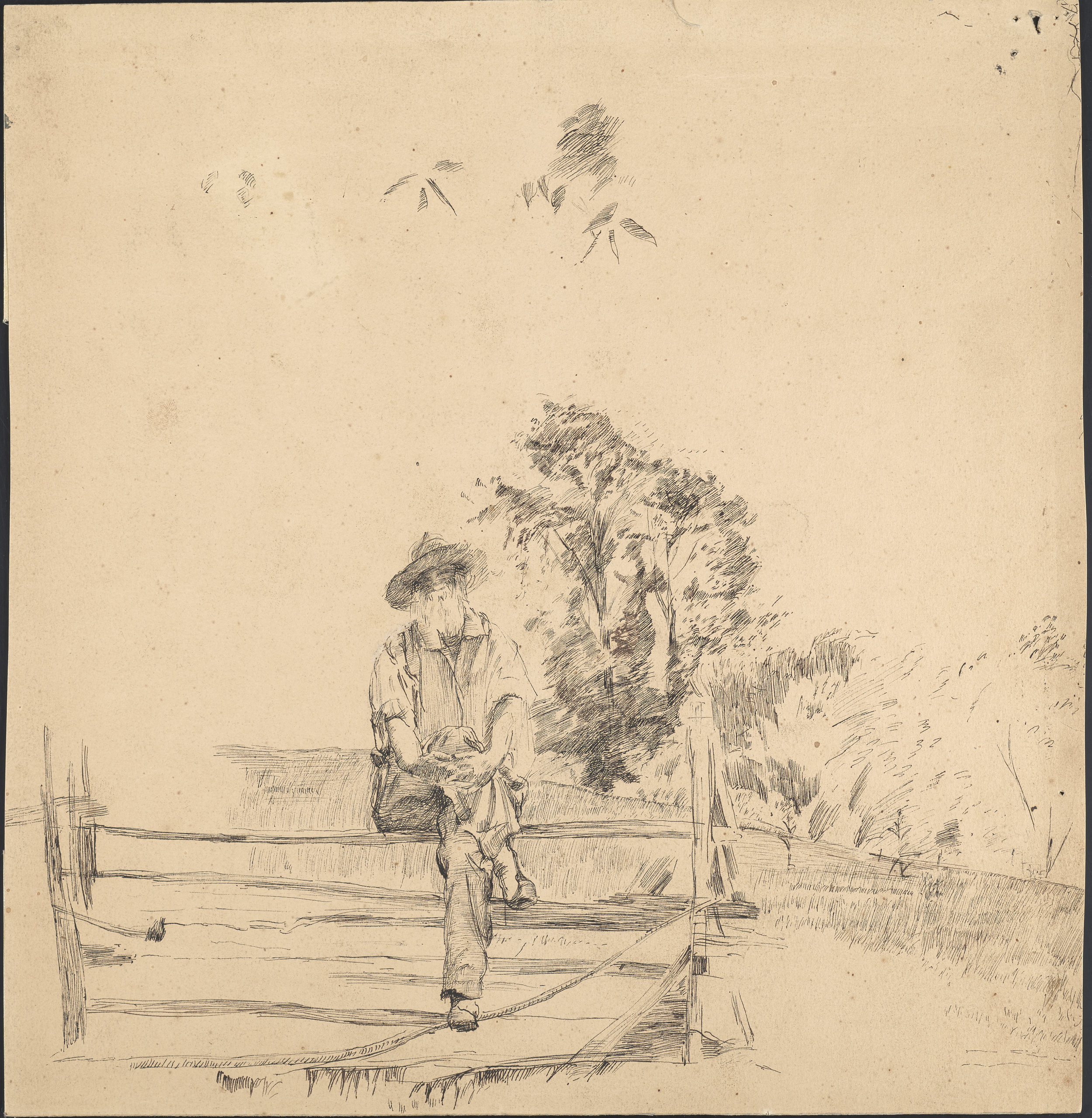 MSColl1083_Whitman_1878_Gilchrist_sketch_2_recto.jpg