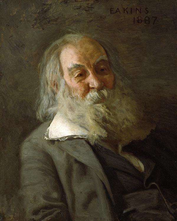 Thomas Eakins,  Walt Whitman , oil on canvas, 1887-88. Courtesy of The Pennsylvania Academy of the Fine Arts