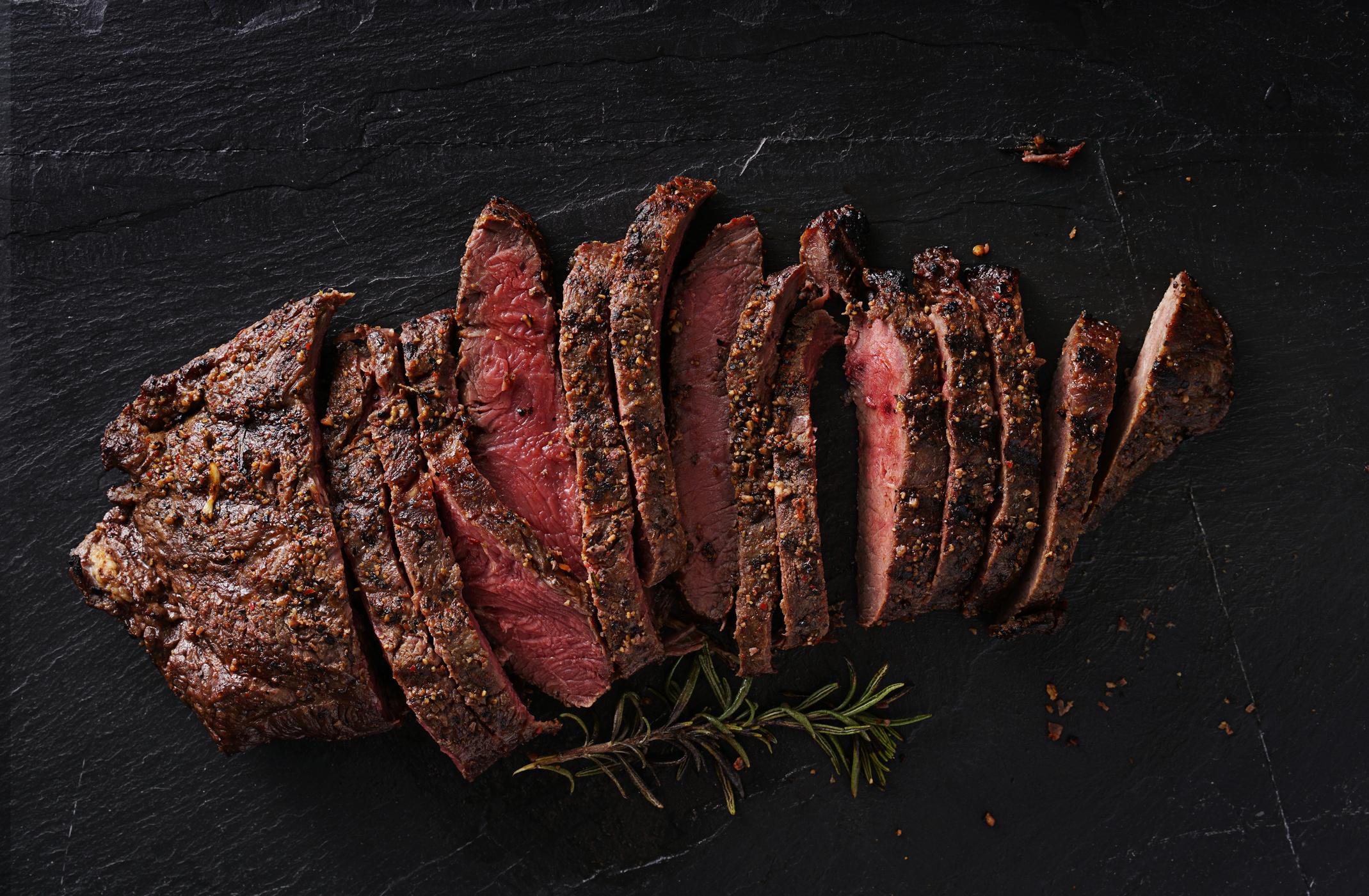 - Steaks