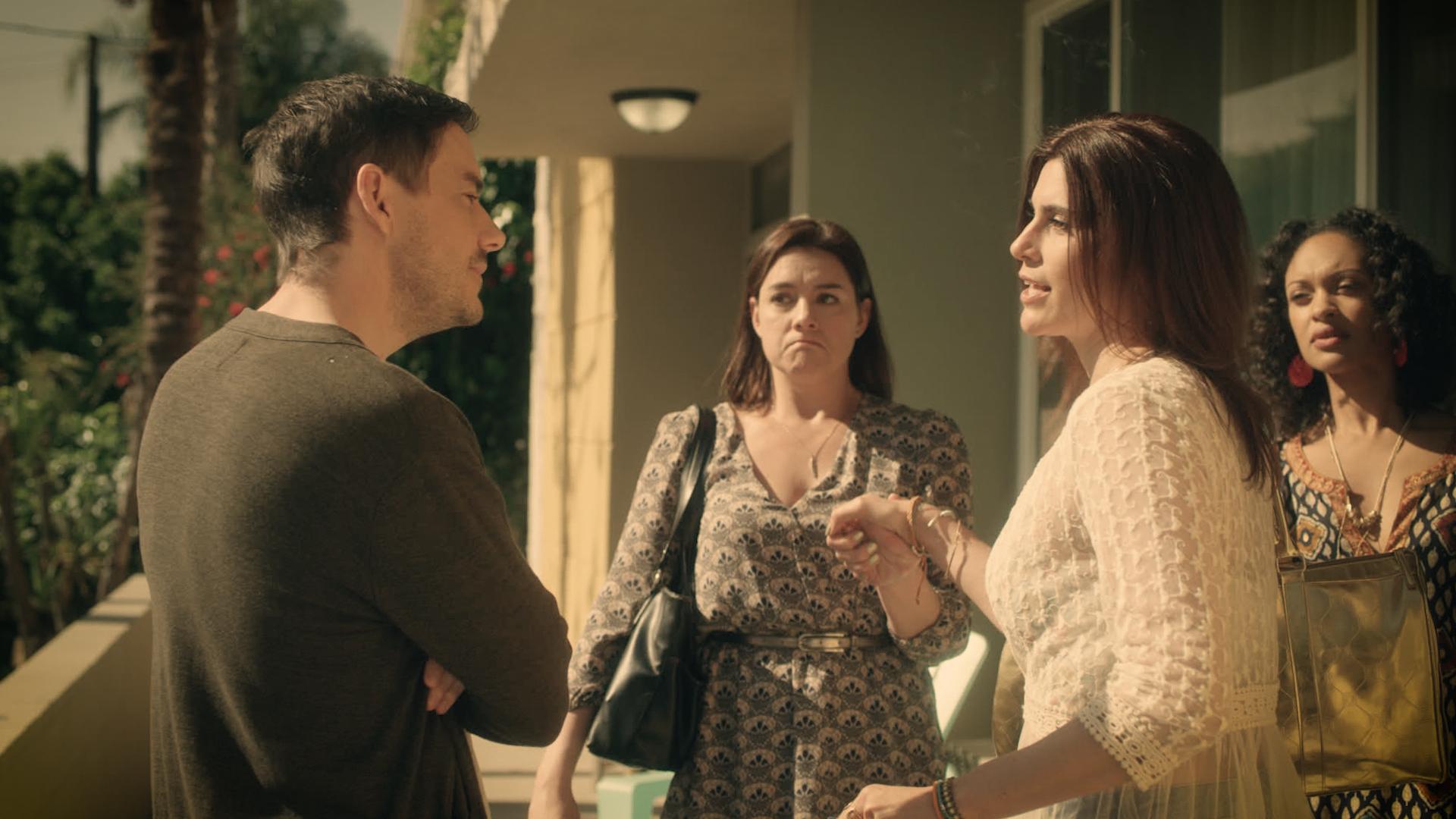 John Sloan, Catia Ojeda, Milena Govich and Cynthia Addai-Robinson star in Closure