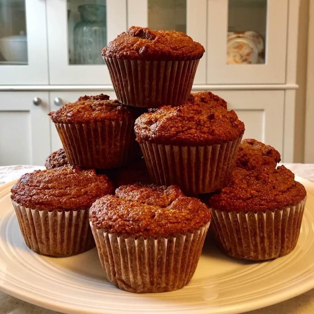 gluten free cinnamon muffins