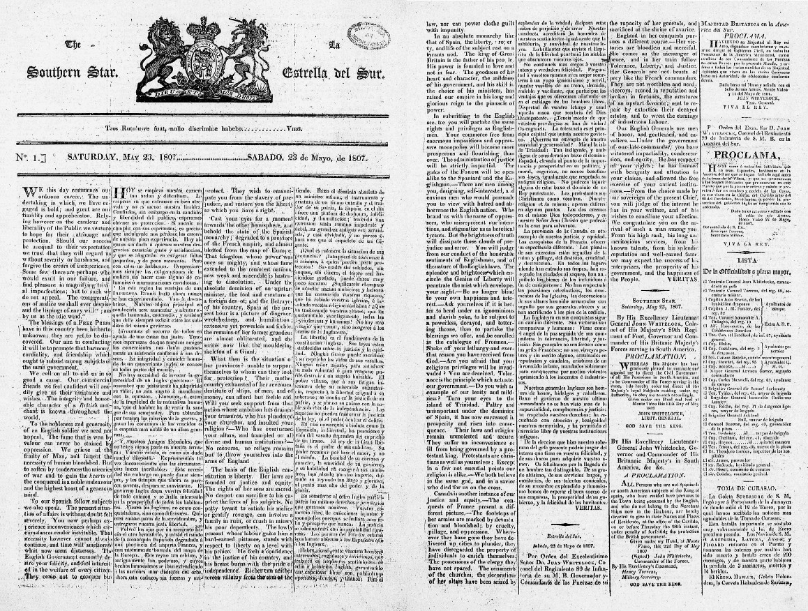 2. Inside pages of The Souther Star (1807).jpeg