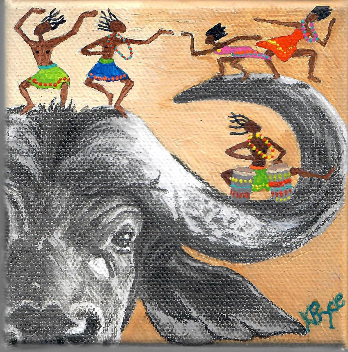 AFRICAN BUFFALO - Kathryn Pryce