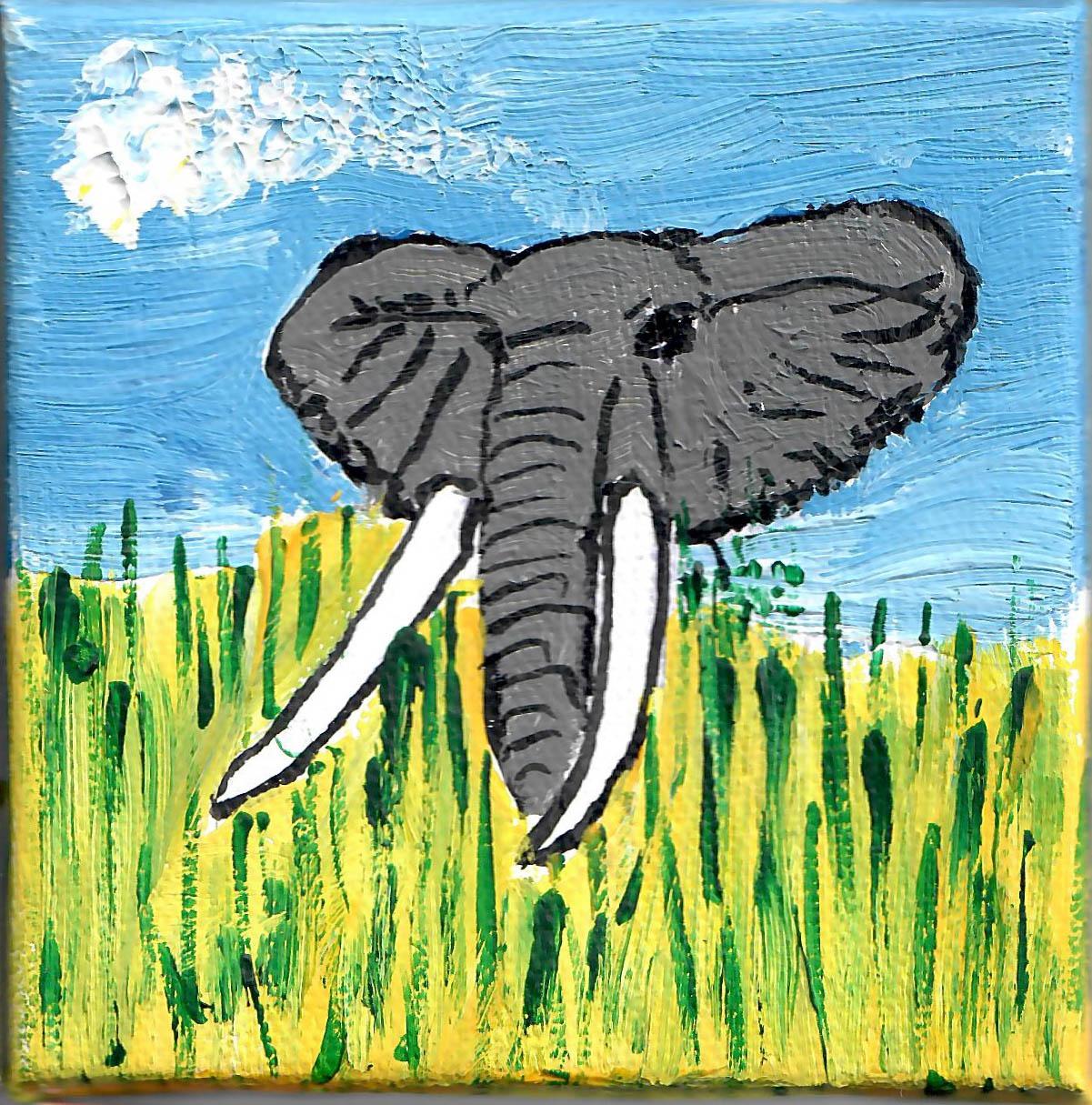 AFRICAN ELEPHANT - Audrey Lea