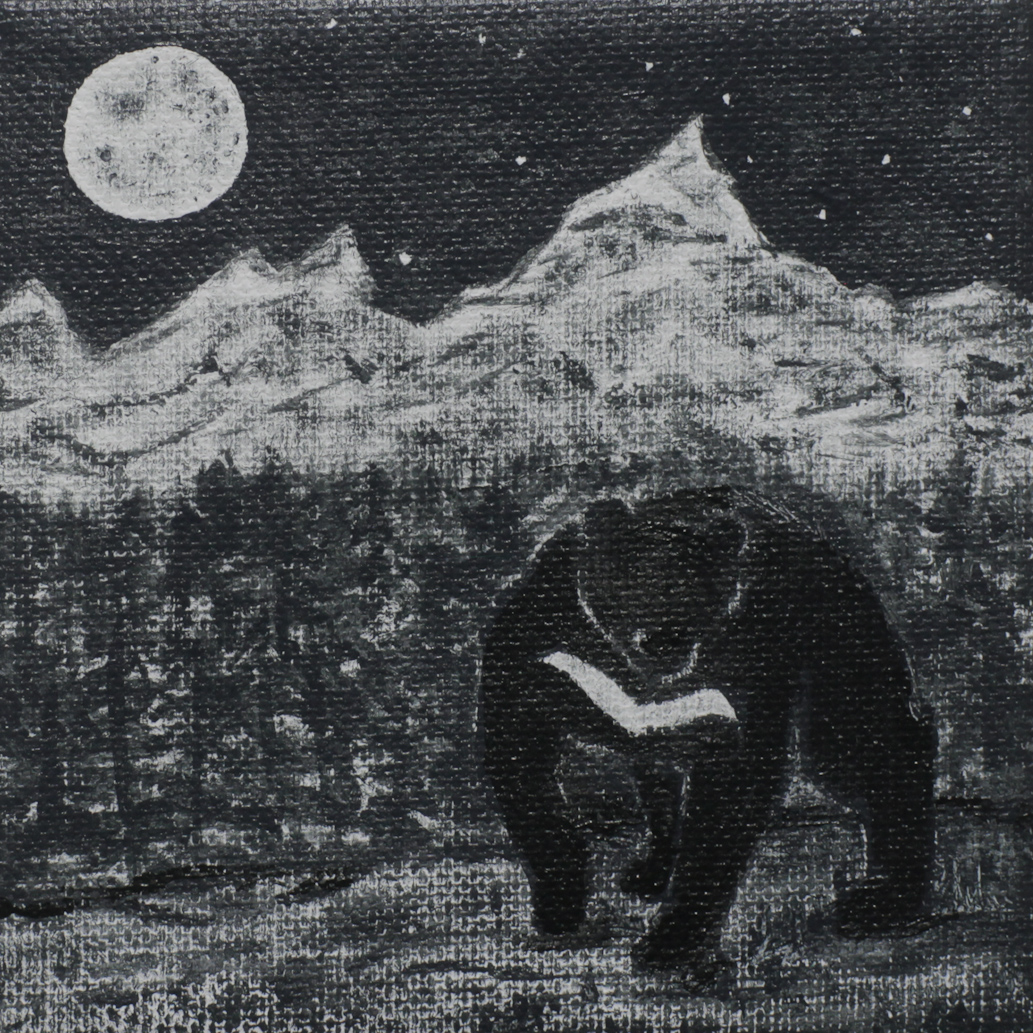 ASIAN BLACK BEAR - Whitney Lockhart