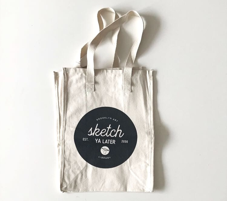 sketch ya later tote