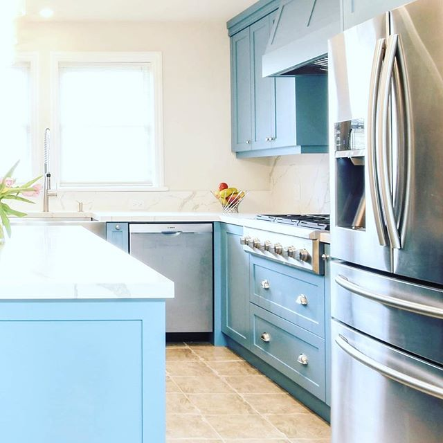 A little sneak peek at a recent kitchen renovation Batteaux Creek Kitchens took on. This kitchen is in a Century Home that is full of character and charm. The new kitchen had to live up to the rest of the homes character. Stay tuned to see all the details that made this happen. #batteauxcreekkitchens #thebluekitchen #centuryhome