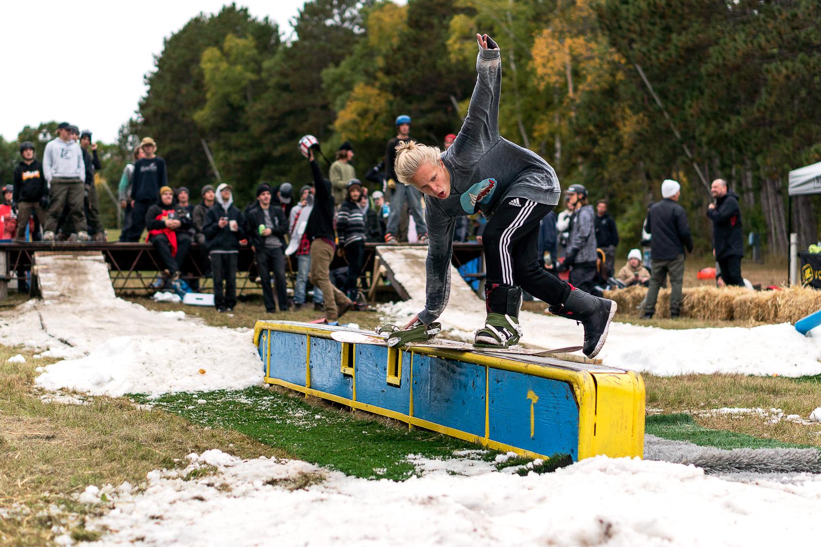 Trollhaugen's 2018 OpenHaugen Rail Jam