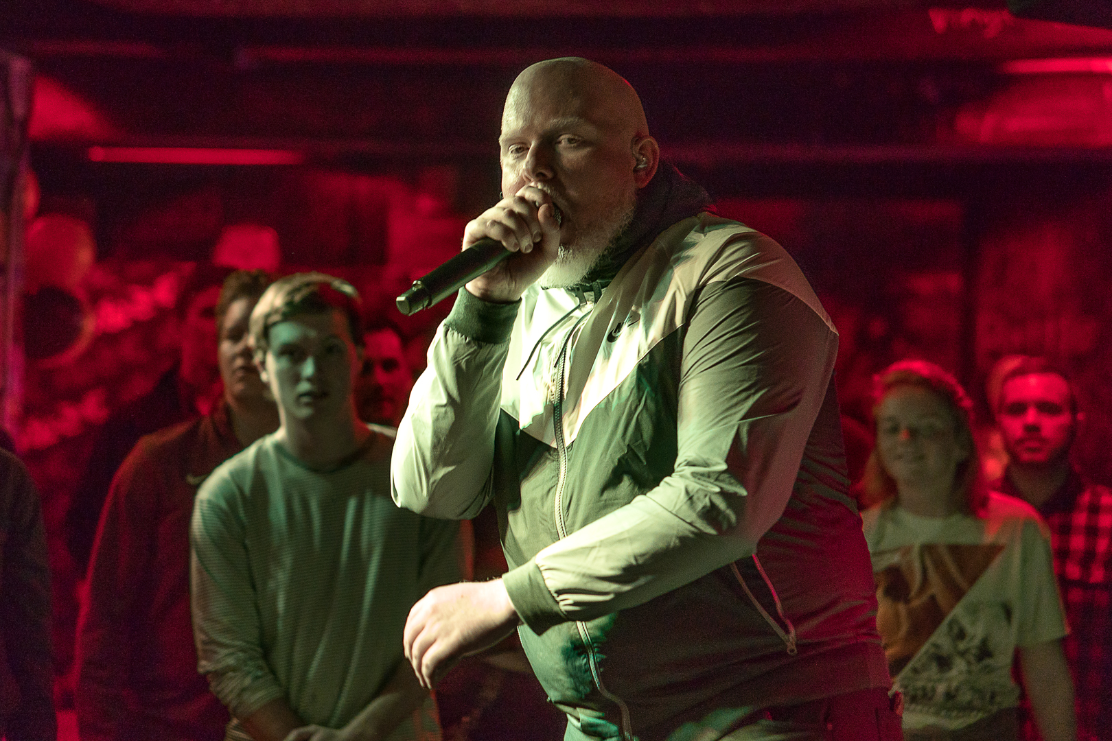 Brother Ali performs the Whole Music Club 50th Anniversary Show.