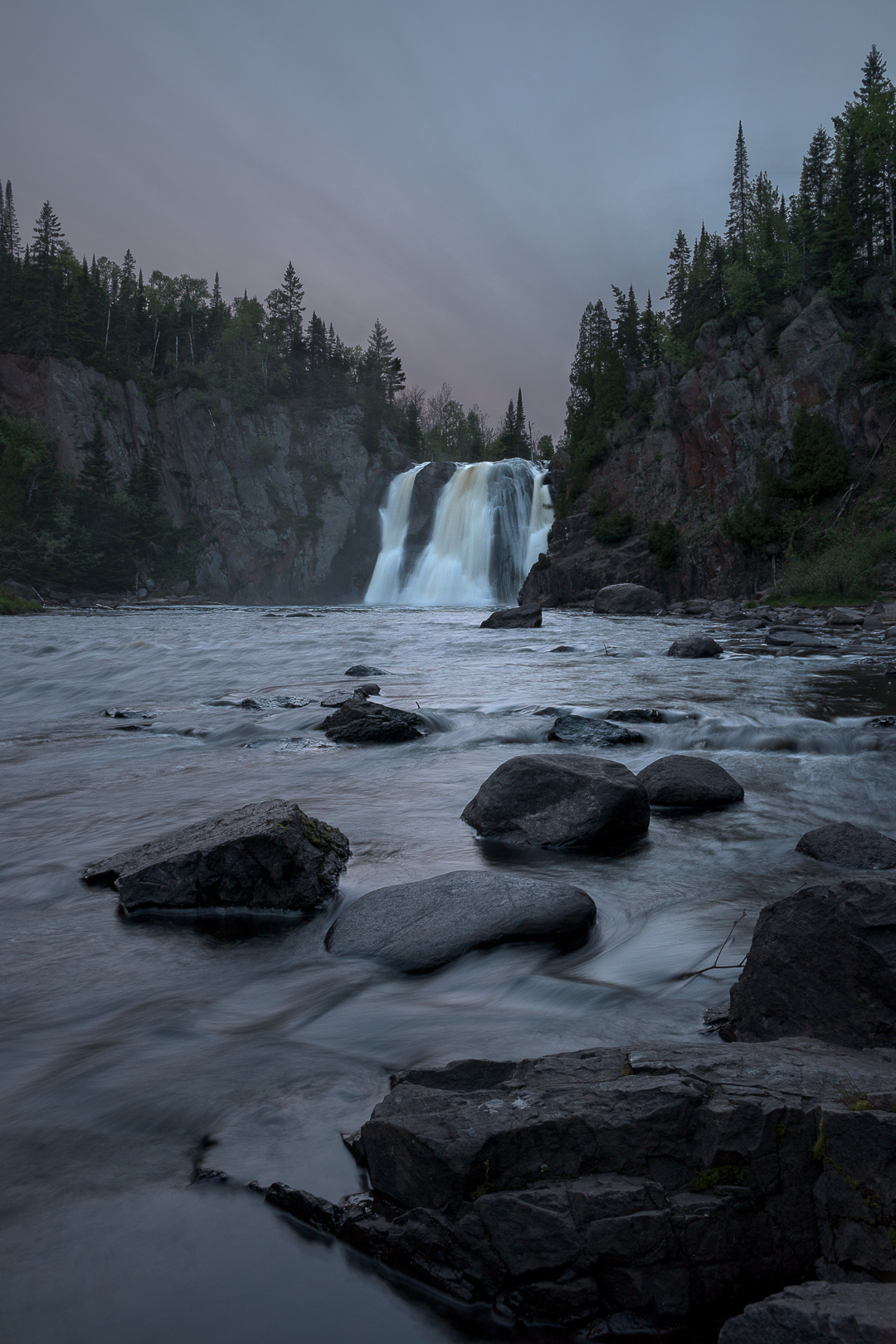 Tettegouche State Park, High Falls