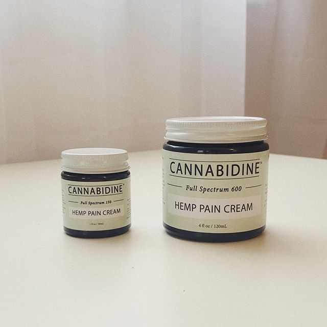 Our hemp pain cream is finally here! Available in 150mg (1oz) and 600mg (4oz). Heading to our local retailers soon, and available online Thursday 12pm EST.