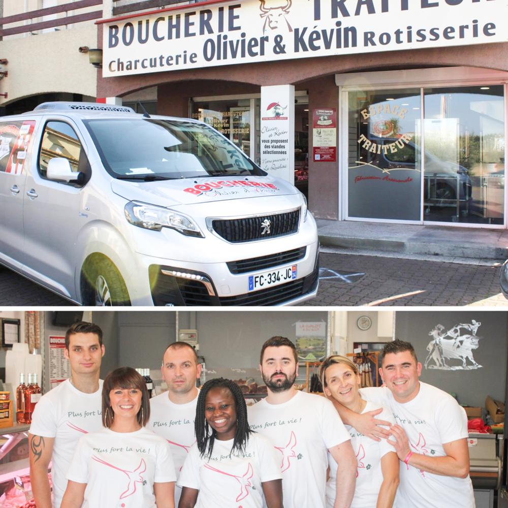 L'équipe de la Boucherie Olivier & Kévin - Agde