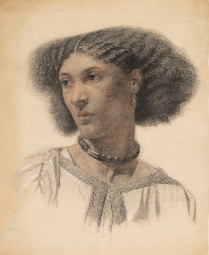 Sketch of Fanny Eaton, Walter Fryer Stocks, 1859