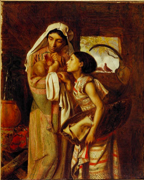 The Mother of Moses,  Simeon Solomon, 1860