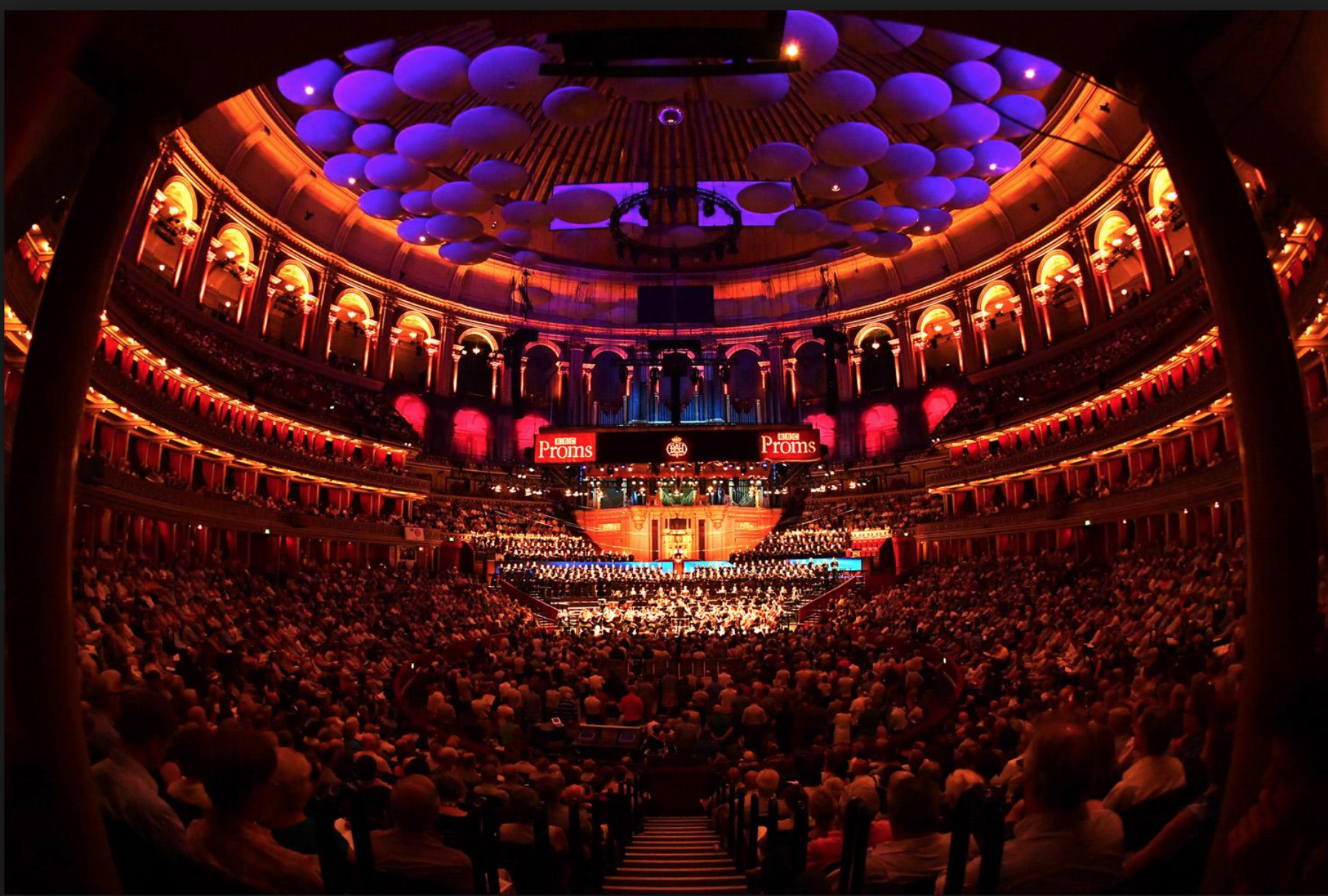 musicAeterna at the Royal Albert Hall, Proms 2018, photo borrowed from the London Evening Standard as reference only