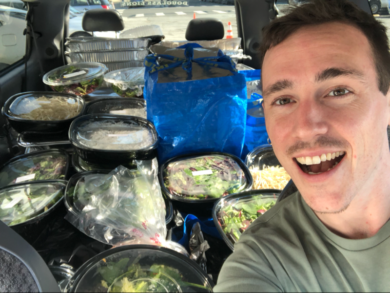 Justin, one of Replate's Bay Area Food Rescuers.
