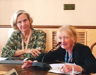 Lois Herman, President WUNRN, event co-sponsor