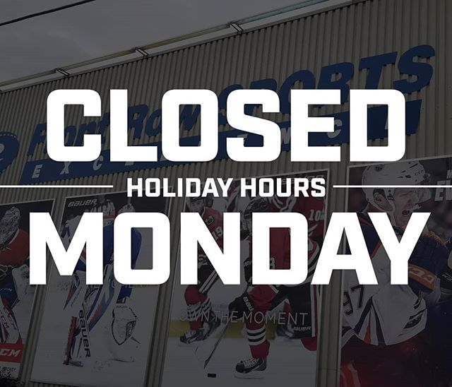 UPDATE!! For the Civic Holiday, we will be closed this Monday the 5th so stop by today or Sunday to grab what you need!!