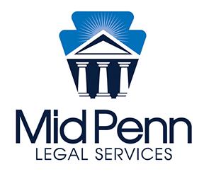 MIDPENN LEGAL SERVICES LOGO DESIGN