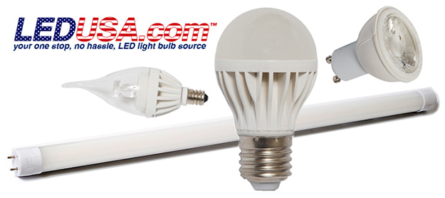 LED USA lightbulbs