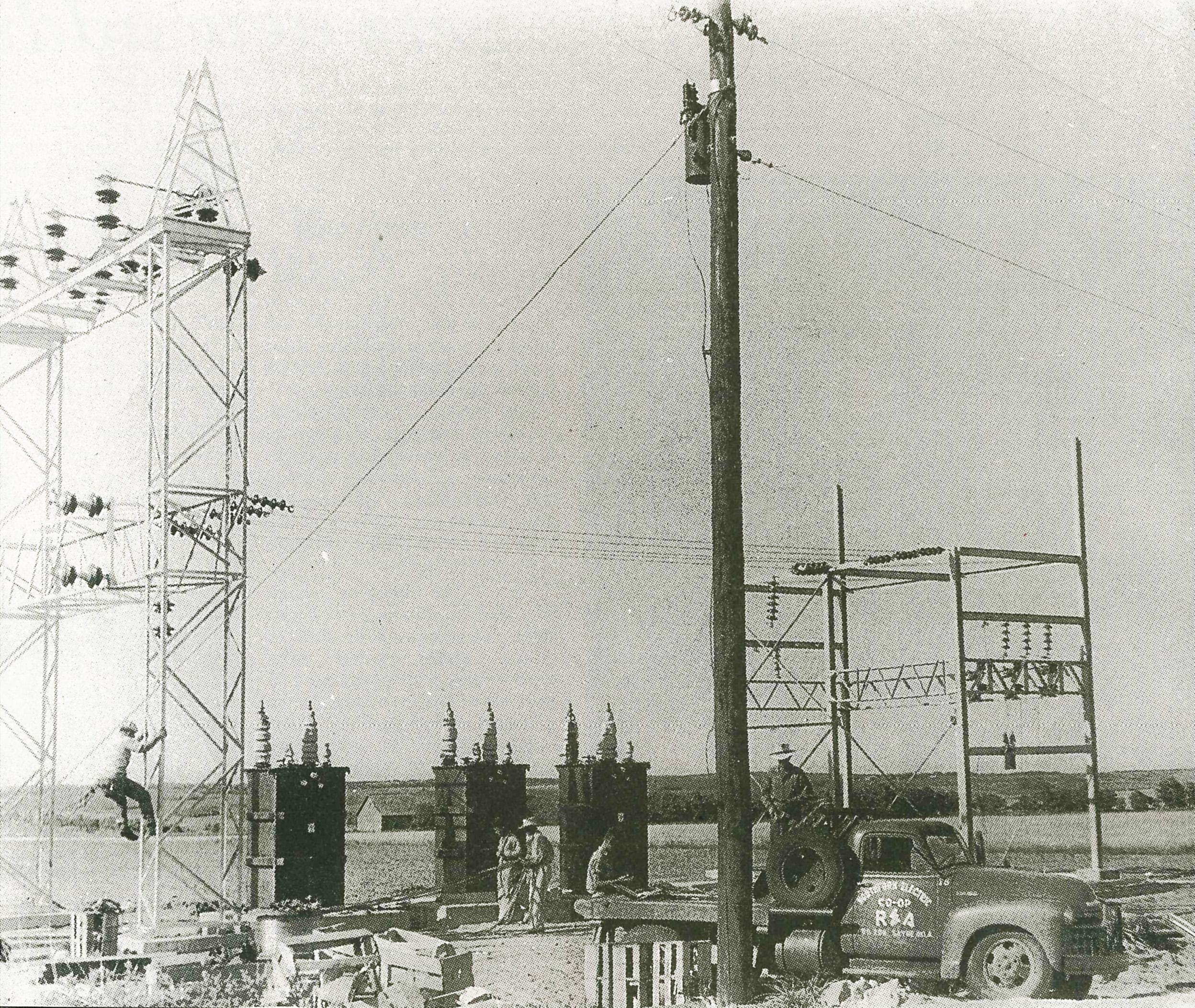 1948 Substation at Reydon
