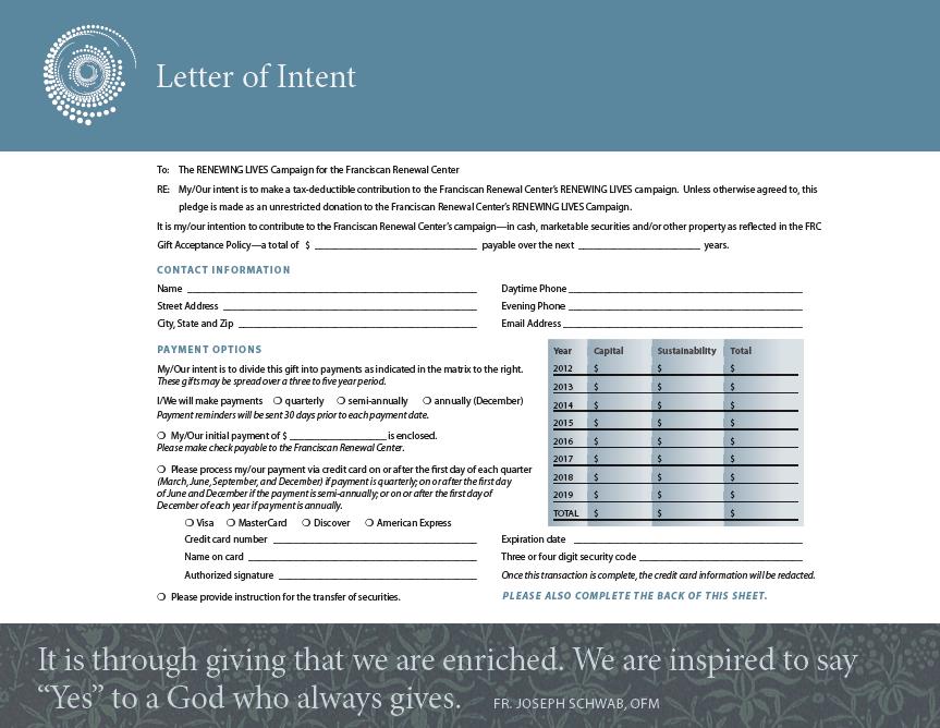 Multi-method Pledge Form