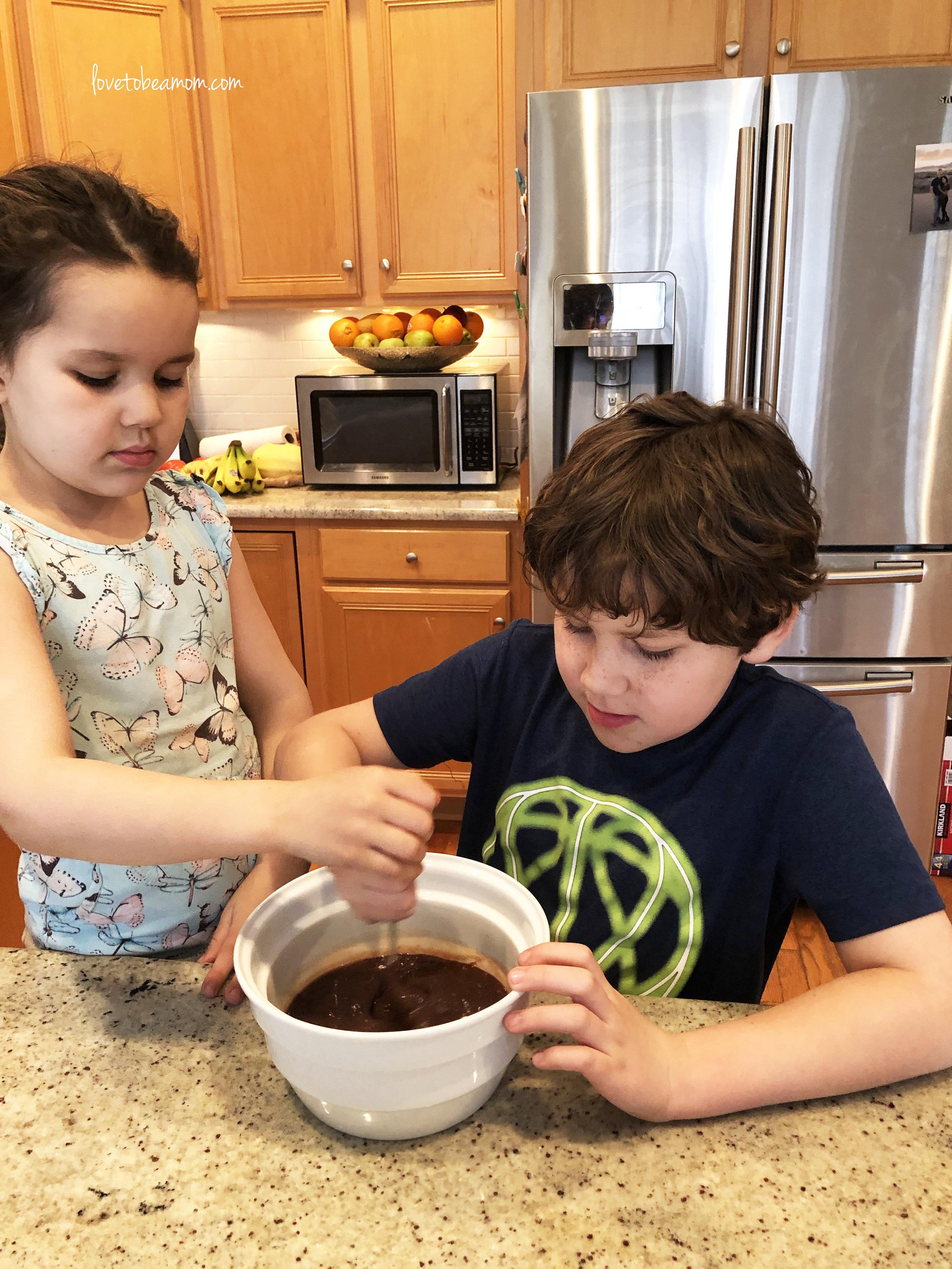 Mixing Fondue