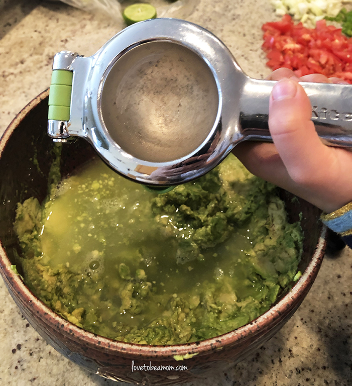"You want your guacamole to almost look ""soupy"""