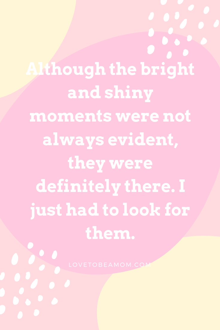 bright and shiny moments