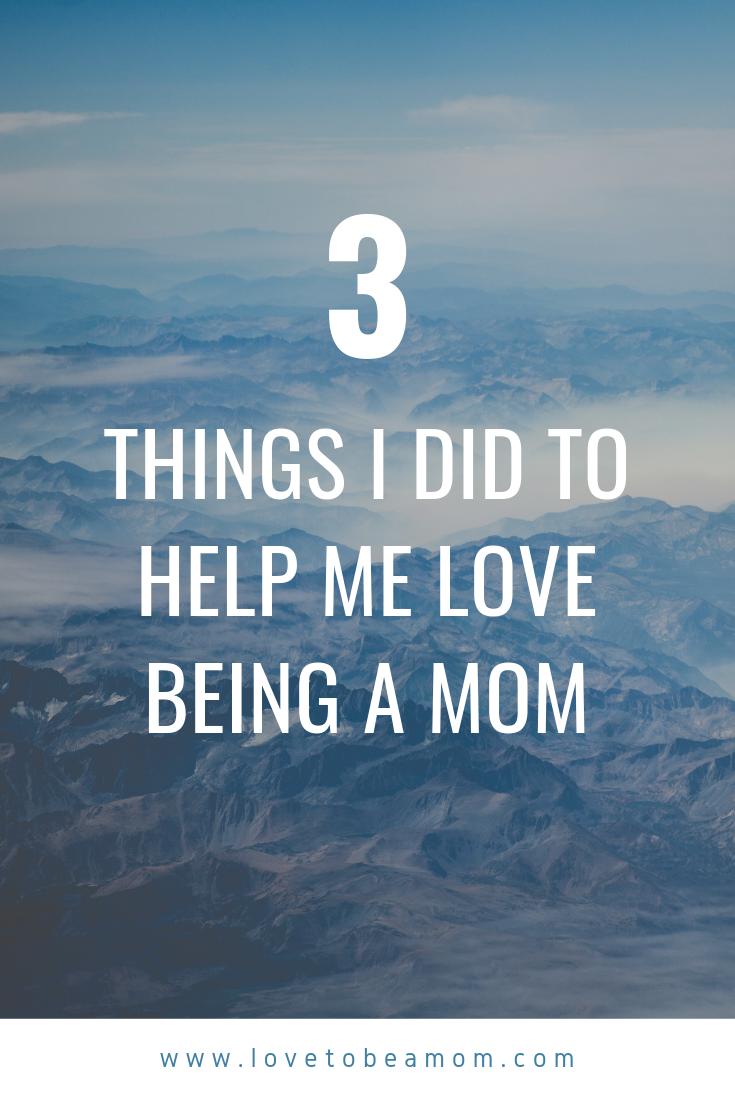 love motherhood