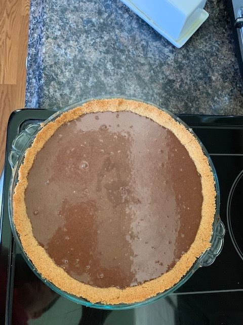 Pour into your pie crust.