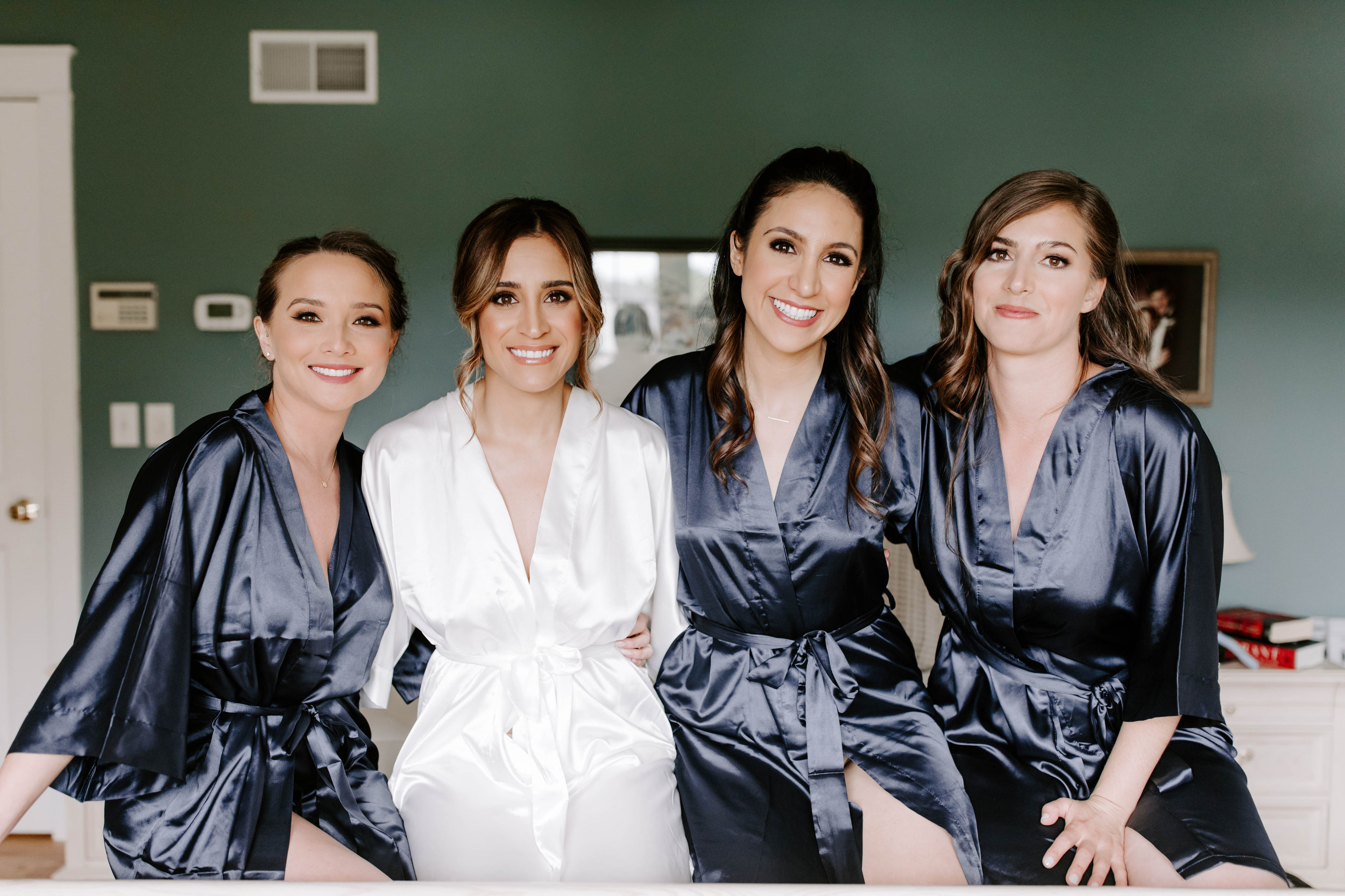 Madeline Isabella Photography    Bride's Makeup   Bridal Party Makeup // Talitha Collado