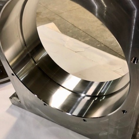 Stainless  #machineshop #manufacturing #cncmachining #welding #milling #metal #metalfabrication #fabrication #industrial #steel #solution #customized #machining #canada