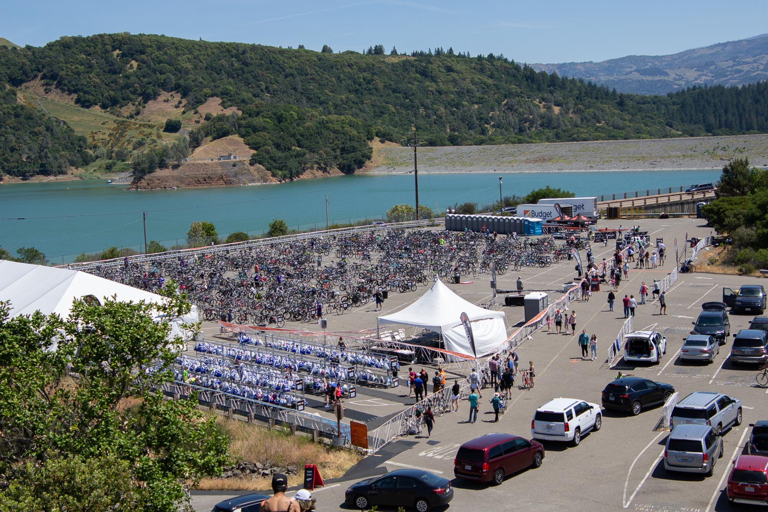 Ironman swim venue in Santa Rosa