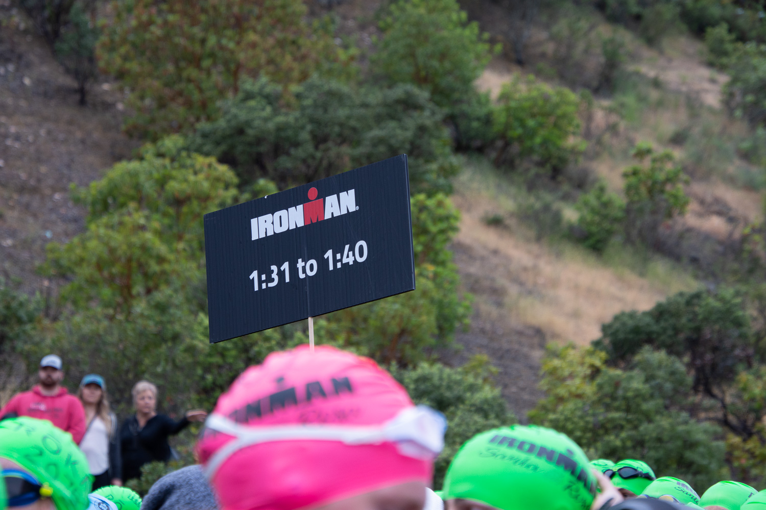 Ironman swim 2019 in Santa Rosa