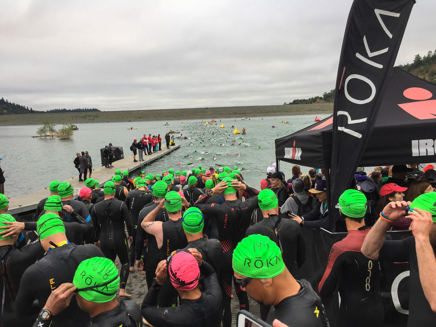 Ironman-swimmers in the water-2019