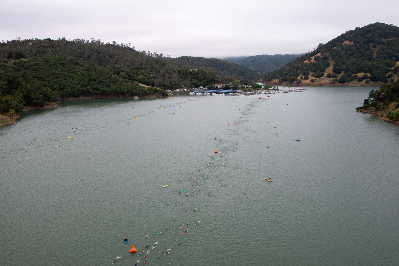 Ironman Santa Rosa swim