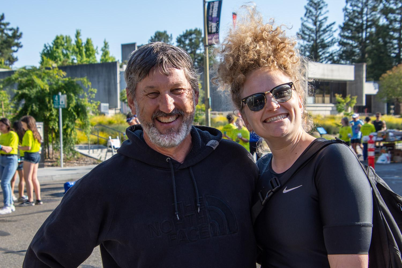 Spectators at Santa Rosa Ironman