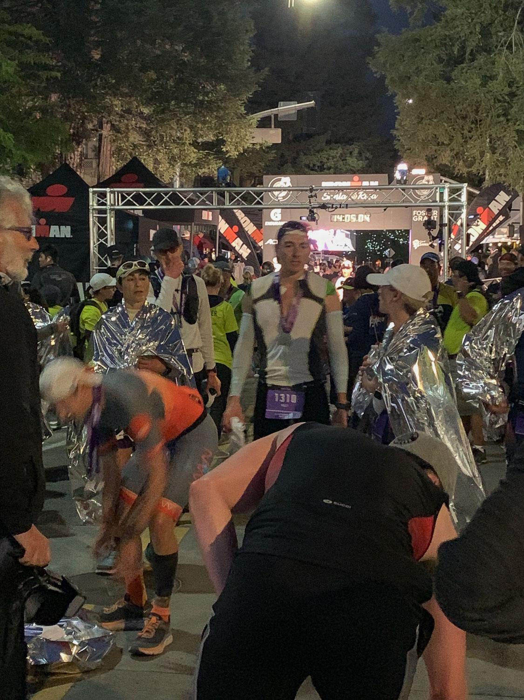 Ironman Santa Rosa finisher.