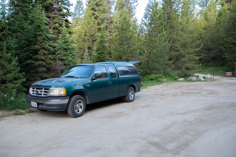 Camping spot in Idaho
