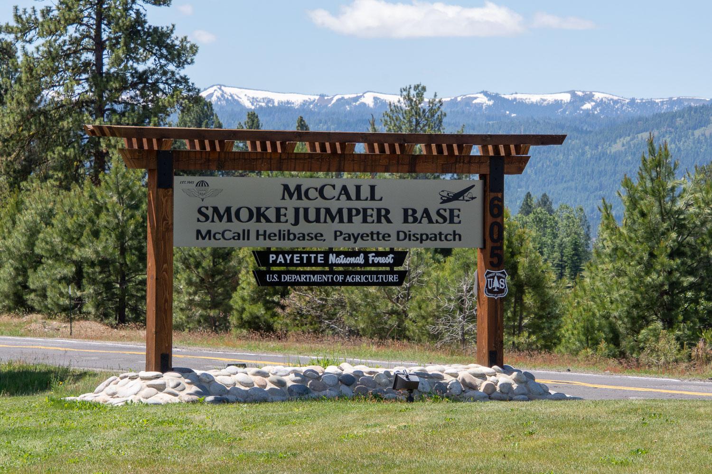 McCall Smokejumper Base at McCall Idaho.