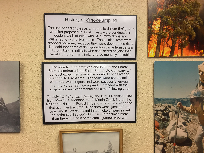 History of Smokejumping