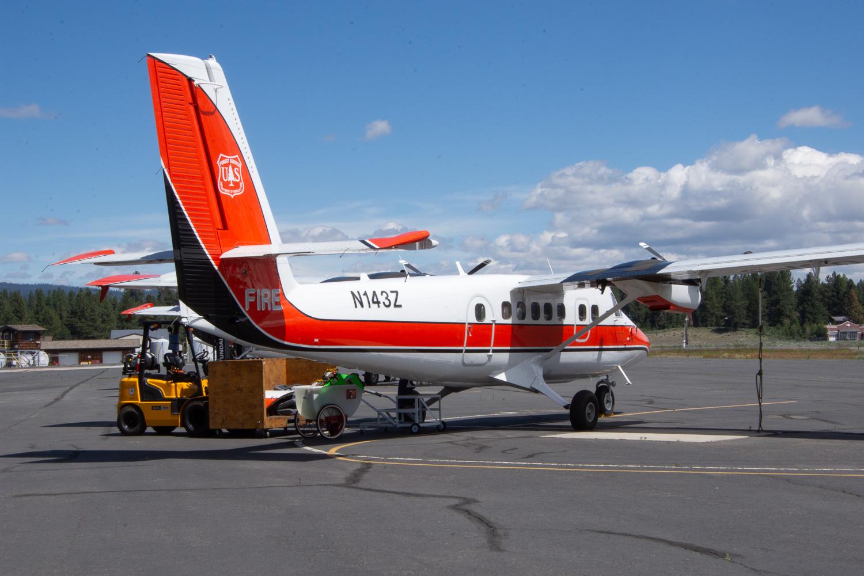 Smokejumper aircraft at McCall Idaho.