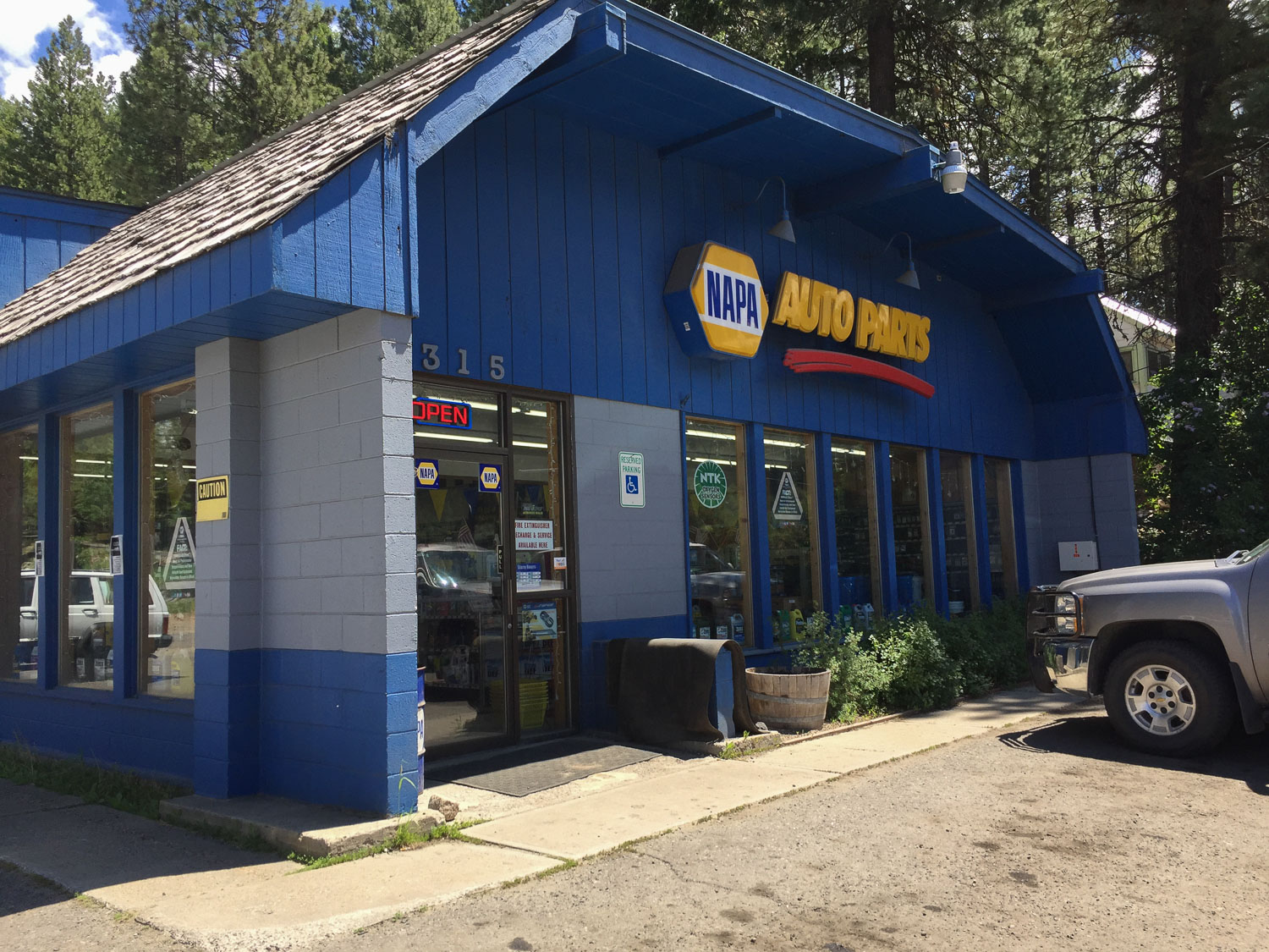 Auto Parts Store in McCall Idaho.