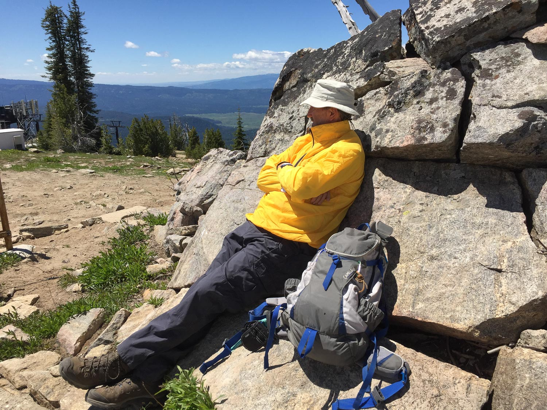 At Brundage Mountain Lookout, Idaho.