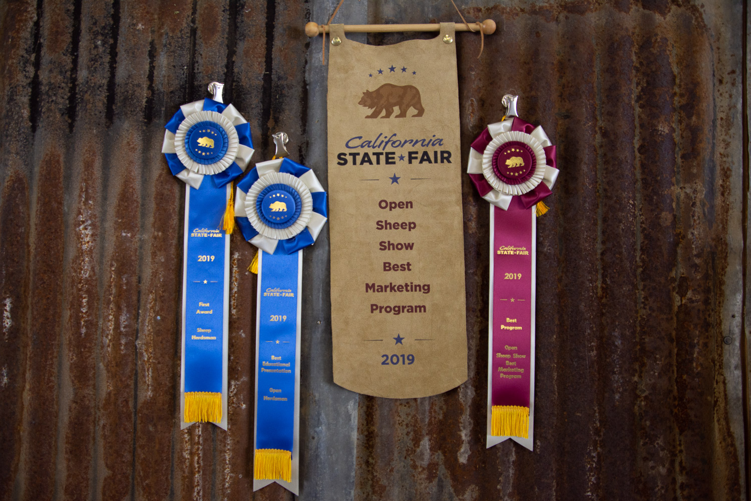 Best Marketing Program at California State Fair.