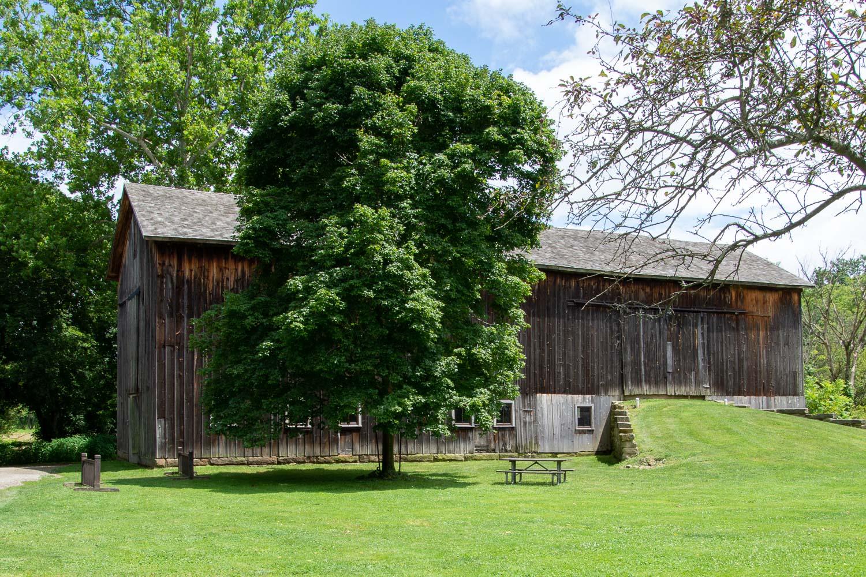 Barn near Stanford House, Cuyahoga Valley National Park