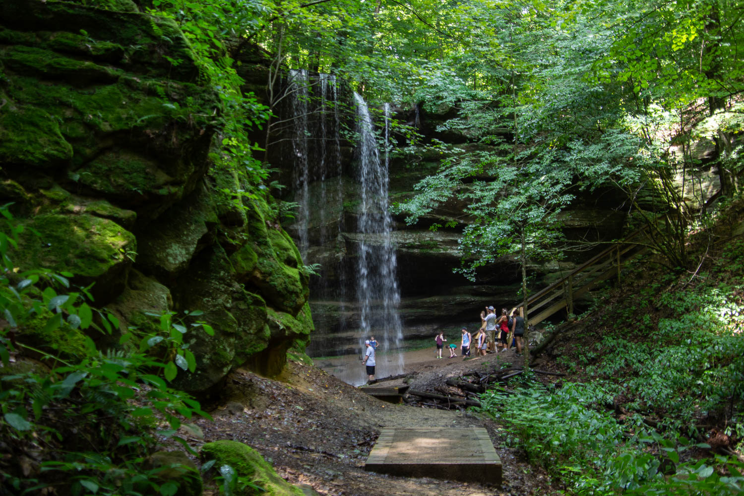 Big Lyons Fall at Mohican State Park in Ohio.