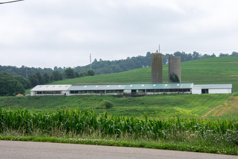 Farm country in Ohio.